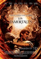 Immortals - Chilean Movie Poster (xs thumbnail)