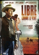 Saddle the Wind - French DVD cover (xs thumbnail)