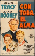 Men of Boys Town - Argentinian Movie Poster (xs thumbnail)