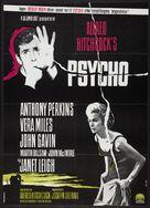 Psycho - Danish Movie Poster (xs thumbnail)