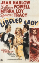 Libeled Lady - Movie Poster (xs thumbnail)