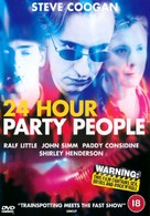 24 Hour Party People - British DVD movie cover (xs thumbnail)