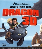 How to Train Your Dragon - Blu-Ray cover (xs thumbnail)