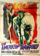 The Quiet American - Italian Movie Poster (xs thumbnail)