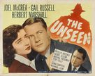 The Unseen - Movie Poster (xs thumbnail)