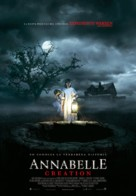 Annabelle: Creation - Spanish Movie Poster (xs thumbnail)