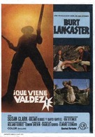 Valdez Is Coming - Spanish Movie Poster (xs thumbnail)