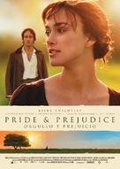 Pride & Prejudice - Spanish Movie Poster (xs thumbnail)