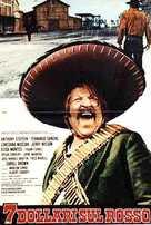 Sette dollari sul rosso - Italian Movie Poster (xs thumbnail)