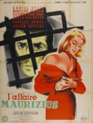 Affaire Maurizius, L' - French Movie Poster (xs thumbnail)