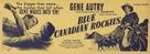 Blue Canadian Rockies - poster (xs thumbnail)