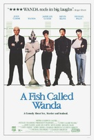 A Fish Called Wanda - Video release movie poster (xs thumbnail)