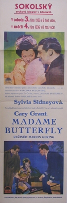 Madame Butterfly - Czech Movie Poster (xs thumbnail)