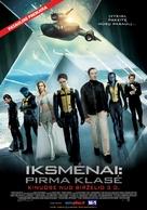X-Men: First Class - Lithuanian Movie Poster (xs thumbnail)