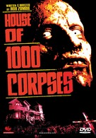 House of 1000 Corpses - Finnish DVD movie cover (xs thumbnail)