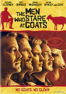 The Men Who Stare at Goats - Swedish DVD movie cover (xs thumbnail)