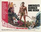 Tarzan and the Great River - British Movie Poster (xs thumbnail)
