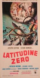 Ido zero daisakusen - Italian Movie Poster (xs thumbnail)