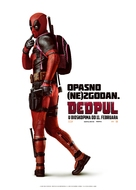 Deadpool - Serbian Movie Poster (xs thumbnail)