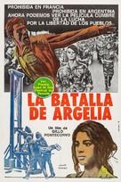 La battaglia di Algeri - Argentinian Movie Poster (xs thumbnail)