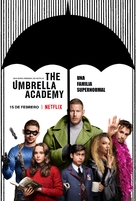 """The Umbrella Academy"" - Mexican Movie Poster (xs thumbnail)"