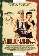 Mani di velluto - German DVD cover (xs thumbnail)