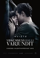 Fifty Shades of Grey - Estonian Movie Poster (xs thumbnail)