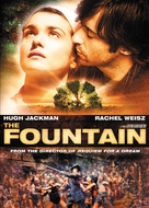 The Fountain - DVD cover (xs thumbnail)