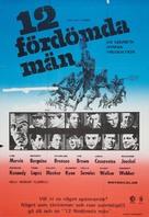 The Dirty Dozen - Swedish Movie Poster (xs thumbnail)