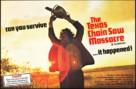 The Texas Chain Saw Massacre - British Movie Poster (xs thumbnail)
