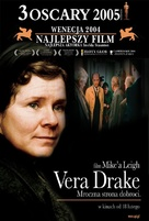Vera Drake - Polish Movie Cover (xs thumbnail)