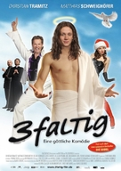 3-faltig - German Movie Poster (xs thumbnail)
