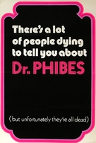 The Abominable Dr. Phibes - British Movie Poster (xs thumbnail)