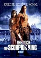 The Scorpion King - German Movie Poster (xs thumbnail)