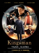 Kingsman: The Secret Service - Slovak Movie Poster (xs thumbnail)