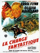 They Died with Their Boots On - French Movie Poster (xs thumbnail)