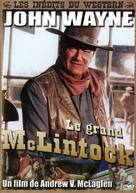 McLintock! - French DVD cover (xs thumbnail)