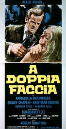 A doppia faccia - Italian Movie Poster (xs thumbnail)