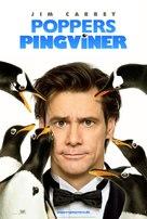 Mr. Popper's Penguins - Danish Movie Poster (xs thumbnail)