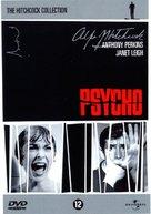 Psycho - Dutch DVD movie cover (xs thumbnail)