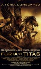 Clash of the Titans - Brazilian Movie Poster (xs thumbnail)
