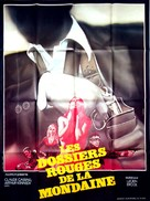 La polizia ha le mani legate - French Movie Poster (xs thumbnail)