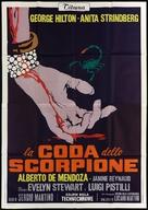 La coda dello scorpione - Italian Movie Poster (xs thumbnail)