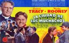 Men of Boys Town - Spanish Movie Poster (xs thumbnail)