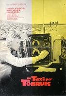 Un taxi pour Tobrouk - Italian Movie Poster (xs thumbnail)