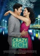 Crazy Rich Asians - German Movie Poster (xs thumbnail)