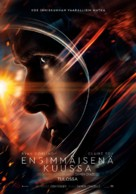 First Man - Finnish Movie Poster (xs thumbnail)