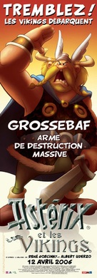 Astèrix et les Vikings - French poster (xs thumbnail)
