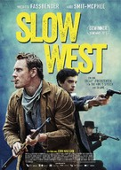Slow West - German Movie Poster (xs thumbnail)