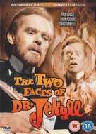 The Two Faces of Dr. Jekyll - British DVD movie cover (xs thumbnail)